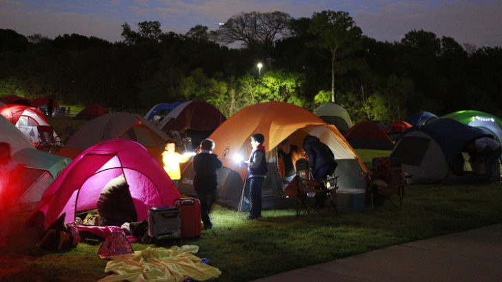 Annual Tents and Tales Campout Offers Family Fun, Movie Under the Stars