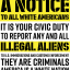 'Illegal Aliens' Fliers Posted Around UT Arlington