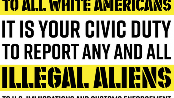 'Illegal Aliens' Fliers Posted Around UT Arlington