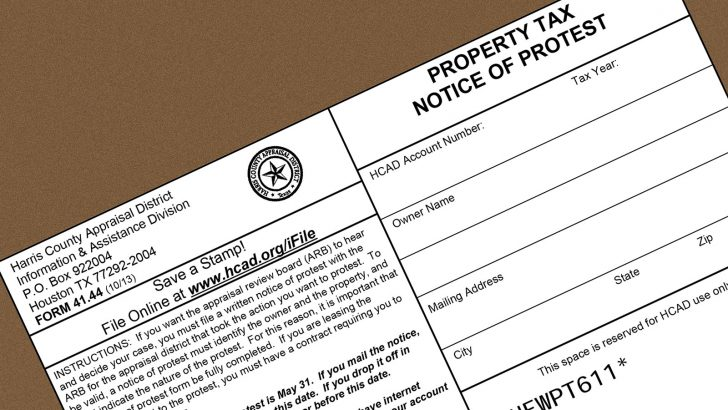 How to File a Texas Property Tax Protest—And Why You Must