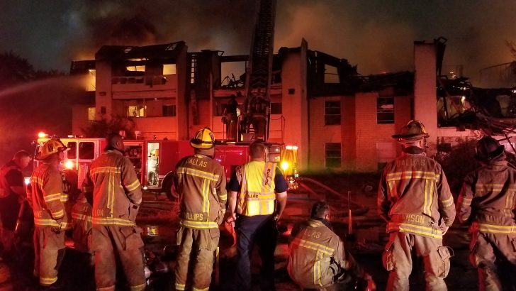 Fires tear through 3 structures in separate incidents in Dallas, Plano, Arlington